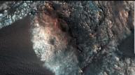 화성에서 바람에 의한 모래언덕들 발견