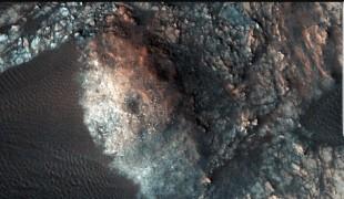 화성 '바챤 둔' 모래언덕 <이미지 출처 : 나사 트윗터 공식계정 https://www.jpl.nasa.gov/spaceimages>
