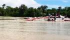 브라질 아마존 열대우림 지역에서 선박이 전복되는 사고 발생해