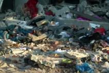 리비아의 난민 수용소 폭격 당해